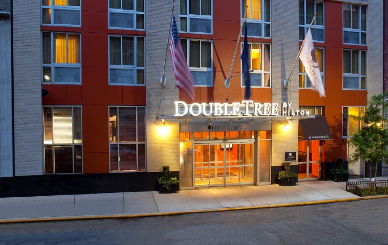 intravelreport ascott acquires doubletree by hilton hotel. Black Bedroom Furniture Sets. Home Design Ideas