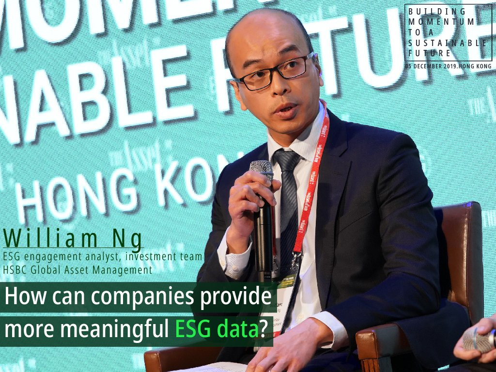 How can companies provide more meaningful ESG data?
